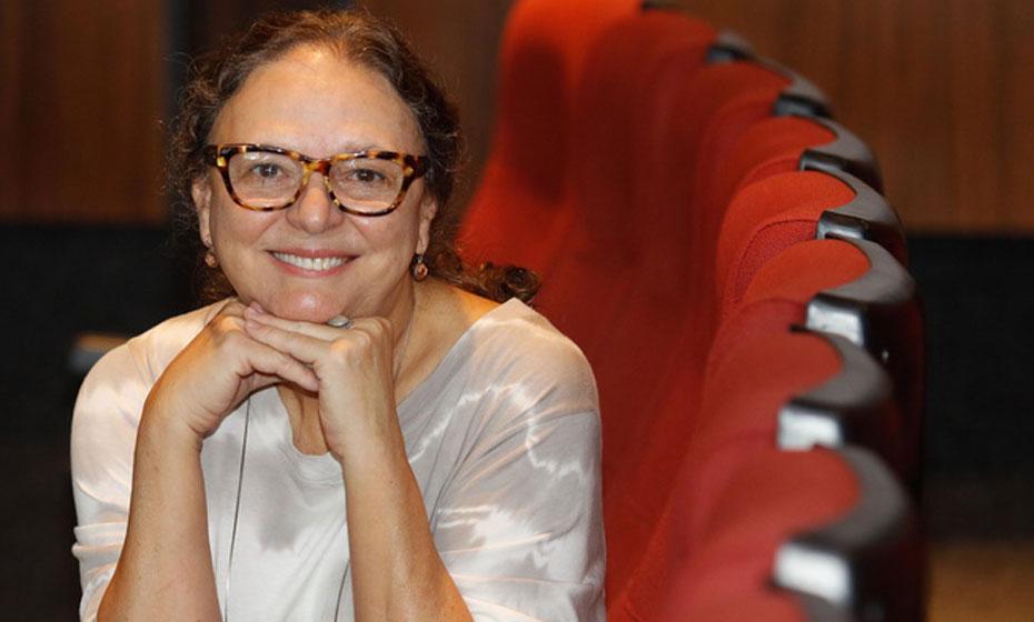 Ana Farache, gestora do Cinema da Fundaj e também responsável pela Cinemateca