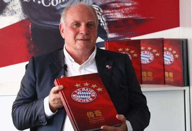Uli Hoeness, presidente do Bayern de Munique