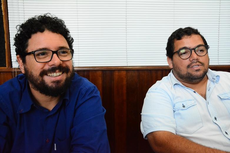 Ivan Moraes e Severino Alves participaram do Programa Folha Política