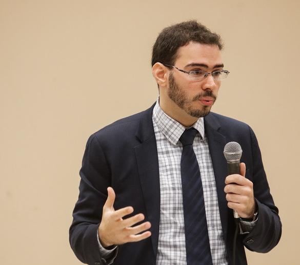 Felipe Oriá, diretor da EIPP