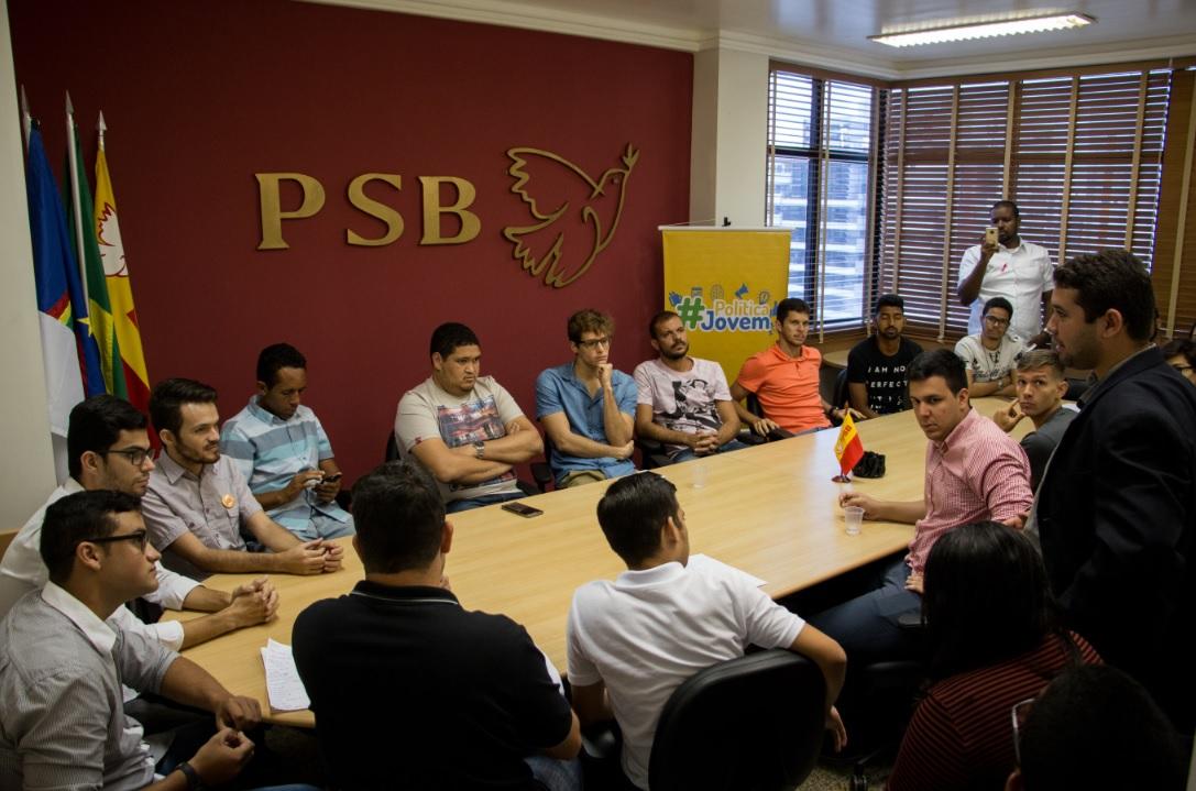 O #PolíticaJovem é organizado pela Juventude do PSB