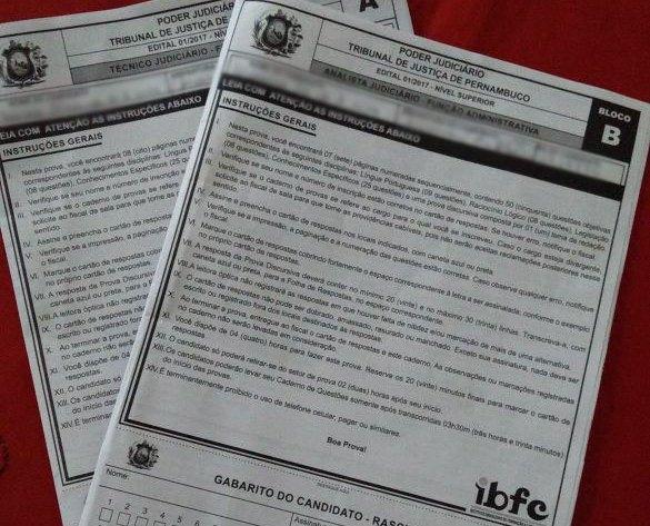 O concurso do TJPE é alvo de polêmica desde a primeira segunda-feira pós prova, quando candidatos denunciaram ter presenciado falhas na fiscalização e o descumprimento de itens do edital