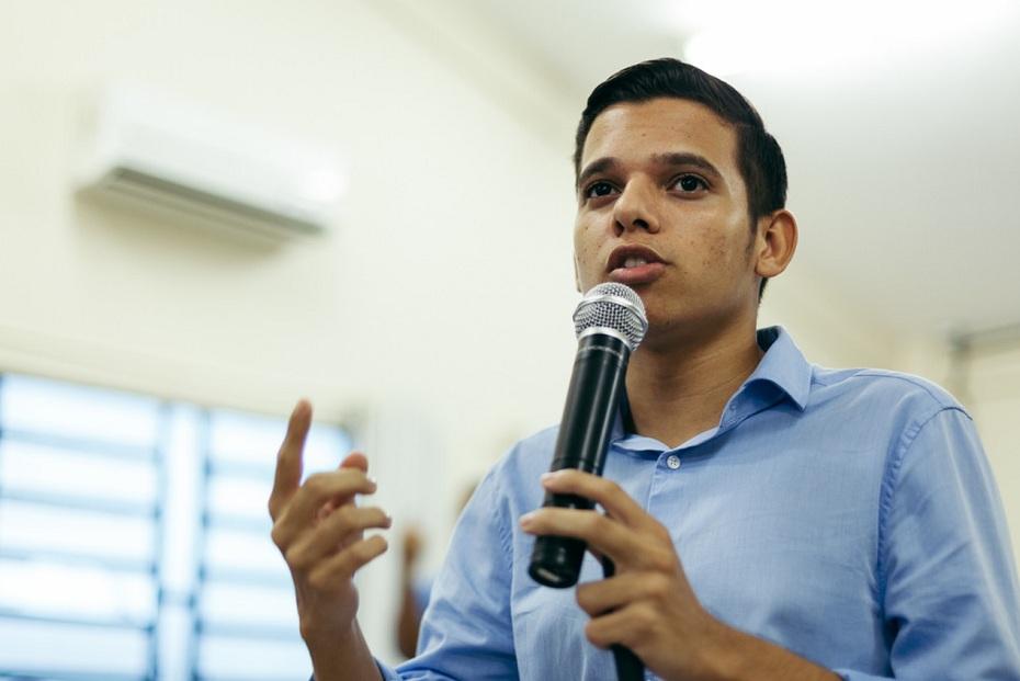 Rhayann Vasconcelos, presidente da JSB Recife
