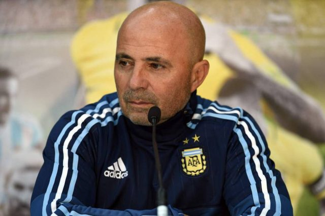 Técnico da Argentina, Jorge Sampaoli