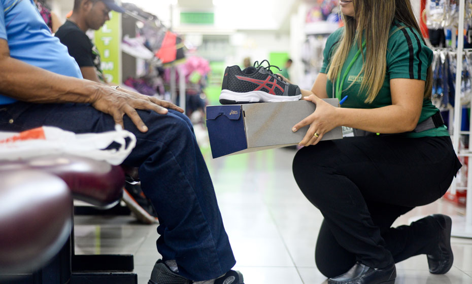 Loja de sapatos