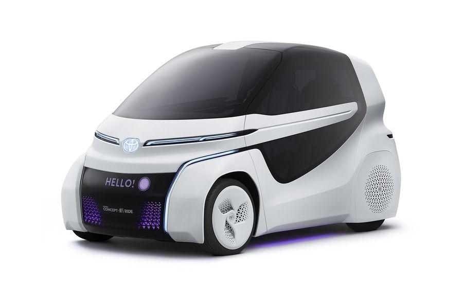 Concept-i Ride, da Toyota