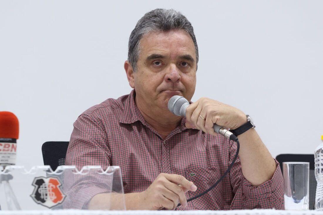 Antônio Luiz Neto já foi presidente do Santa por dois mandatos (2011-12 e 2013-14)