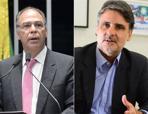 Raul Henry e Fernando Bezerra Coelho