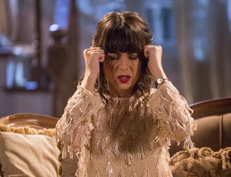 Lucinda, personagem de Andreia Horta em 'Tempo de Amar'