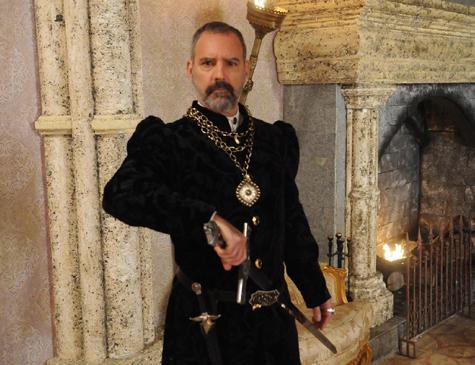 Severo, personagem de Floriano Peixoto em 'Belaventura'