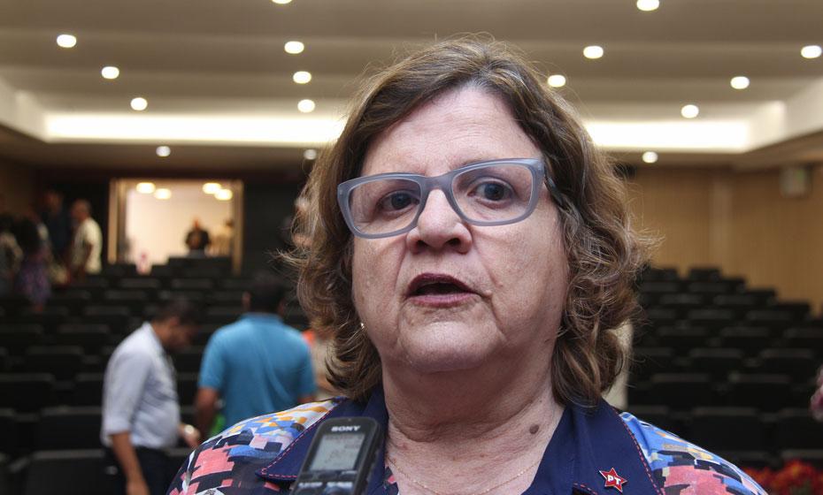 Deputada Teresa Leitão (PT)