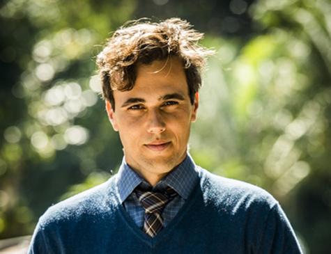 Vicente, personagem de Bruno Ferrari em 'Tempo de Amar'