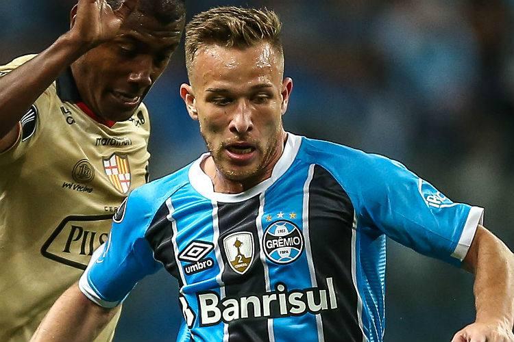 Arthur se destacou com a camisa tricolor durante a temporada 2017