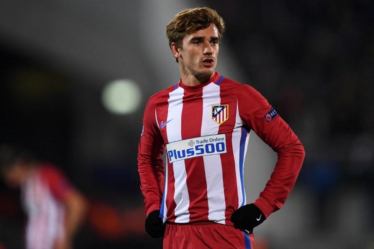 Griezmann, atacante do Atlético de Madrid