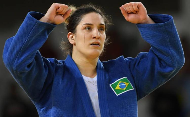 Mayra Aguiar, atleta de judô