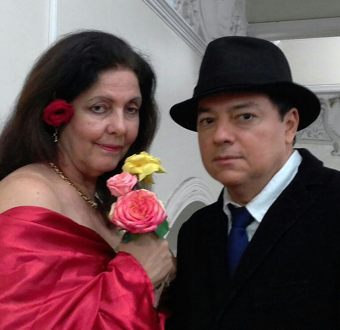Patrícia Breda e Moises Neto interpretam obra de Dom Casmurro