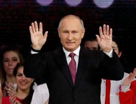 Putin sugeriu diálogo construtivo entre Rússia e Estados Unidos para fortalecer a estabilidade estratégica no mundo e encontrar respostas para as ameaças e desafios globais
