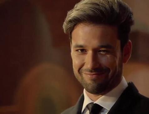 O Anticristo Ricardo Montana, personagem de Sérgio Marone em 'Apocalipse'