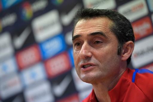 Técnico do Barcelona, Ernesto Valverde
