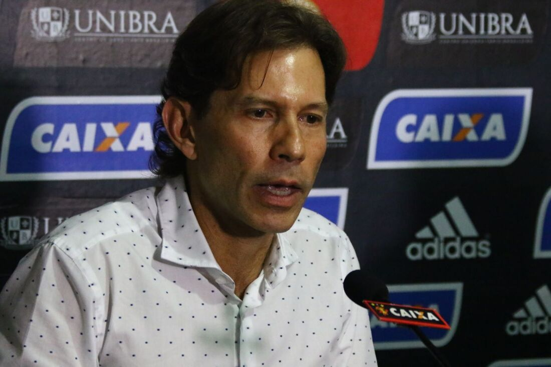 Dirigente Gustavo Dubeux, do Sport.