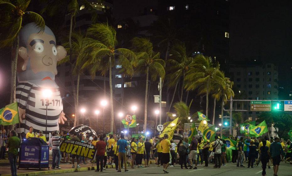 Manifestação Vem pra Rua