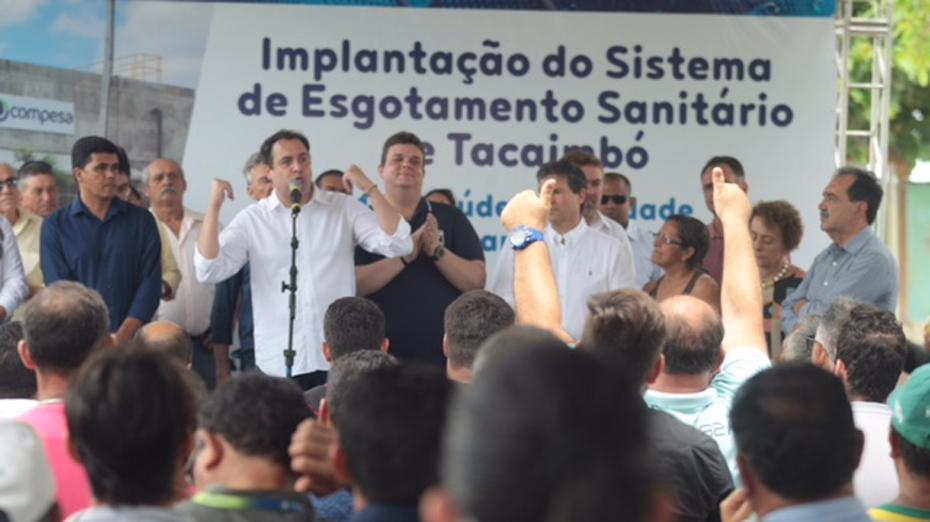 Evento foi realizado em Tacaimbó, ao lado de lideranças