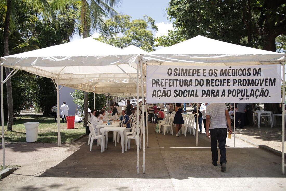Médicos do Recife realizam paralisação