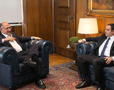 Geraldo Alckmin e Paulo Câmara