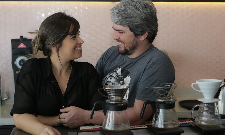 Paloma Amorim e  George Gepp são os idealizadores do projeto Borsoi