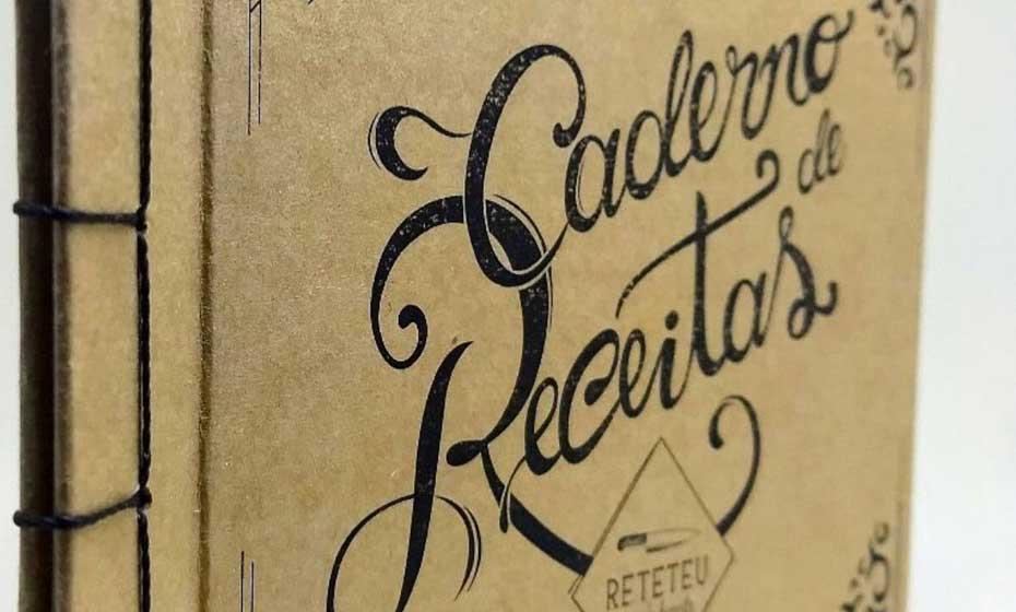 Caderno de Receitas à venda no Retetéu Comida Honesta