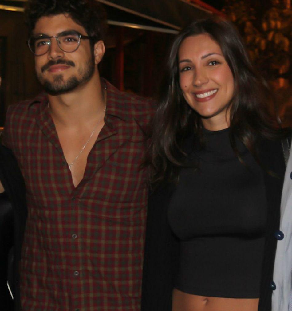 Caio Castro e a nova namorada, Mariana d'Ávila