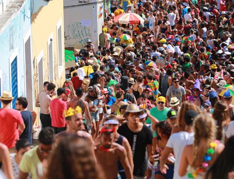 Foliões em Olinda