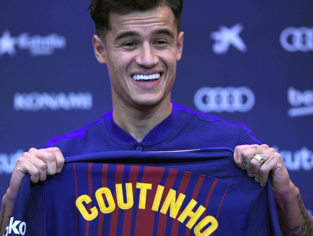 Coutinho está realizando o sonho de defender o Barça