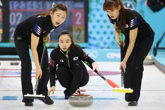 Curling é uma das modalidades dos Jogos de Pyeongchang