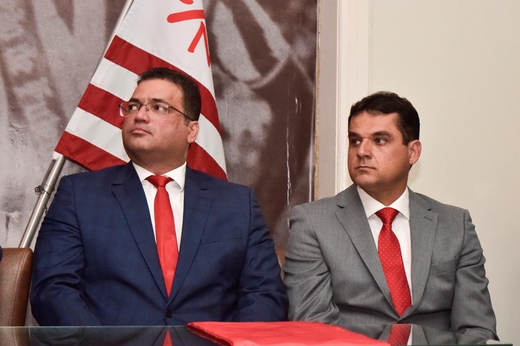 Edno Melo (E) e Diógenes Braga (D)