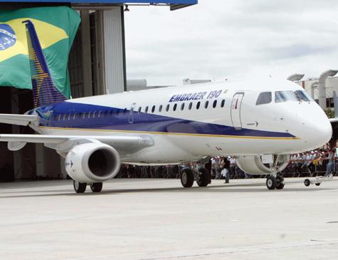 Avião da Embraer