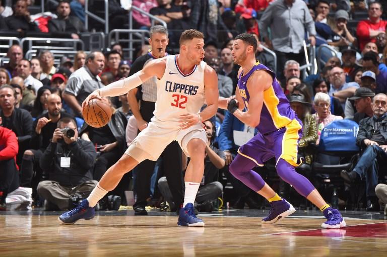 Griffin em ação pelos Clippers na atual temporada