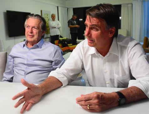 Mendonça Filho, Alexandre Baldy e Paulo Câmara