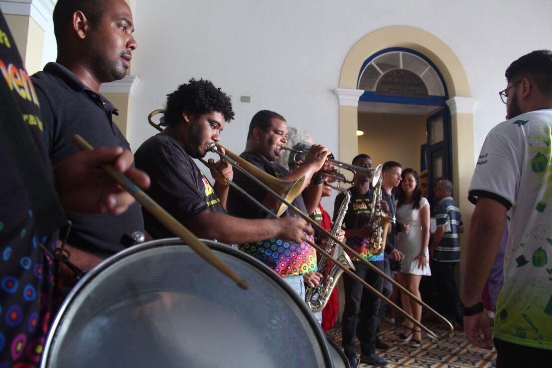 Coletiva de apresentação do Carnaval de Olinda 2018