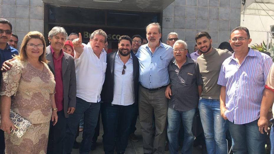 Silvio Costa acompanhou Armando na visita a Belo Jardim
