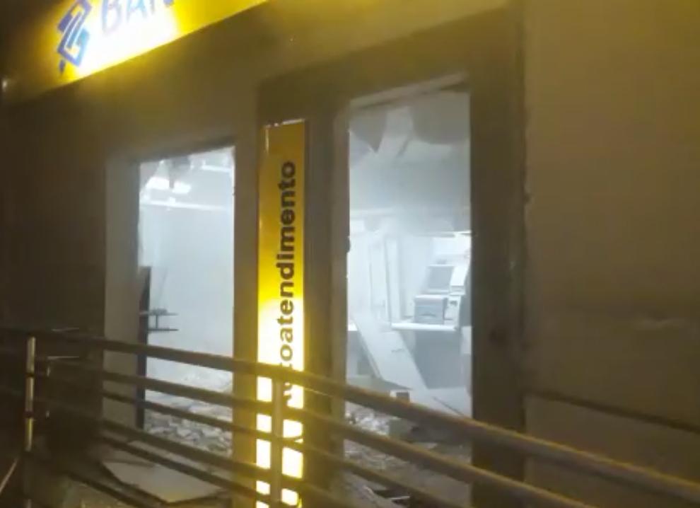 Banco do Brasil de Passira é alvo de explosão