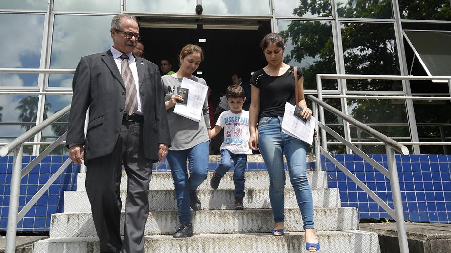As iraquianas pretendem aprender a língua portuguesa e conseguir emprego