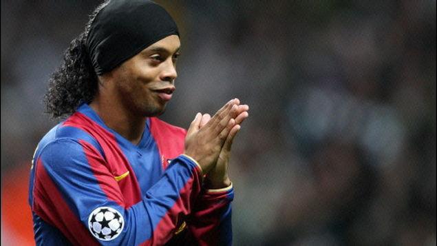 No Barça, Ronaldinho foi eleito duas vezes o melhor jogador do mundo
