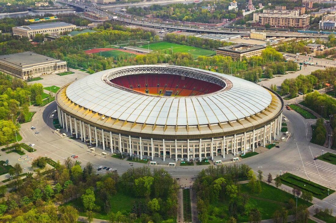 Estádio Luzhniki, em Moscou