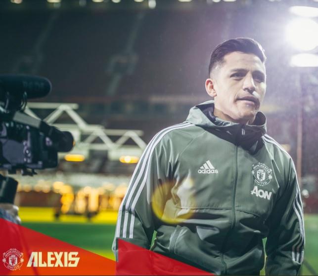 Sánchez chegou ao United no início da semana