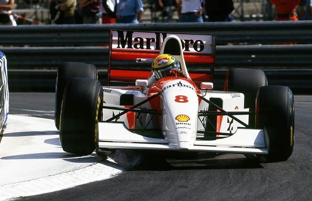 Ayrton Senna no GP de Mônaco de 1993