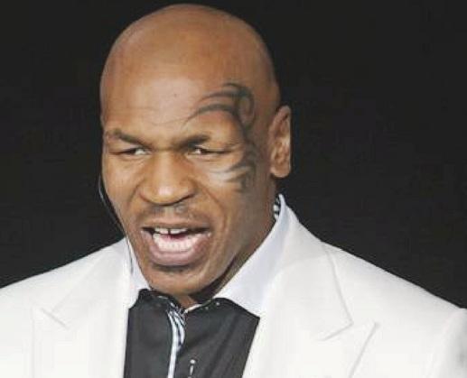 Mike Tyson, lenda do boxe mundial