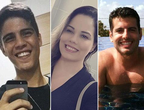 Miguel, Daniel e Lia estavam no Globocop no momento do acidente