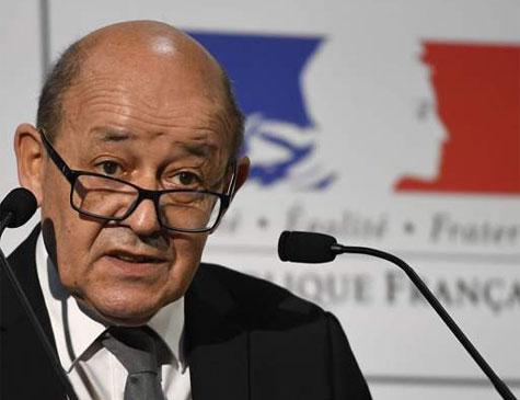 Jean-Yves Le Drian, chefe da diplomacia