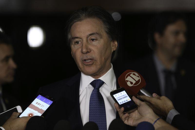 Presidente do Senado Eunício Oliveira